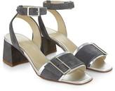 Hobbs London Tara Buckled Block Heel Sandals