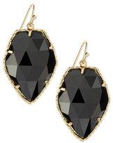 Kendra Scott Corley Earrings, Black Glass