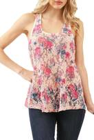 enti glamour Lace Floral Tank