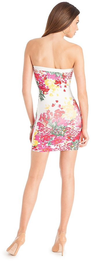 GUESS by Marciano Paulina Floral Bandage Dress