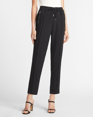 Express Mid Rise Zip Pocket Jogger Pant