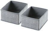 InterDesign Aldo Small Jute Drawer Organizers (Set of 2)