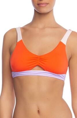Bikini Lab The Colorblock Bralette Bikini Top