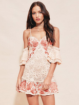 For Love & Lemons Mallorca Tank Dress in Melon