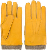 Paul Smith rib-cuff gloves