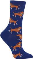 Hot Sox Women's Rollerskating Dog Socks