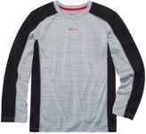 Spalding Boys Long Sleeve T-Shirt-Big Kid