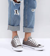 Converse Chuck Taylor Ox Sneakers In Gray