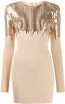 David Koma sequined mini dress