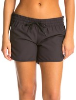 "Hurley Women's Supersuede 5"" Solid Beachrider Boardshort 8119473"