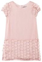 Mayoral Pink Flower Applique Dress