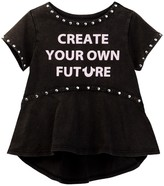 True Religion Studded Future Tee (Toddler & Little Girls)