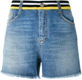 Ermanno Scervino embellished back shorts - women - Cotton/Spandex/Elastane - 38