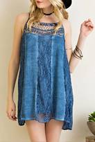 Entro Acid Wash Cami Dress