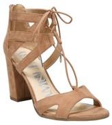 Sam & Libby Women's Elyse Ghillie Low Heel Pump Sandals