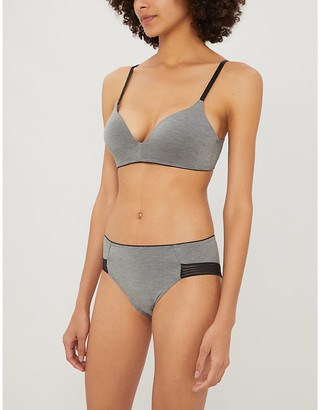 Selfridges Wow Embrace moulded-cup stretch-jersey bra