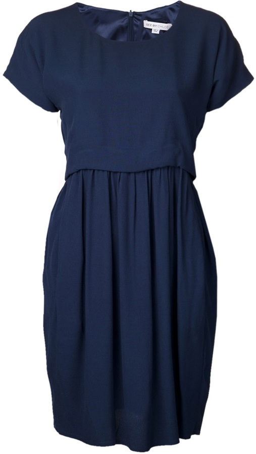 See by Chloe belted dress