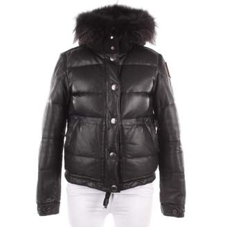 Parajumpers Black Leather Coats