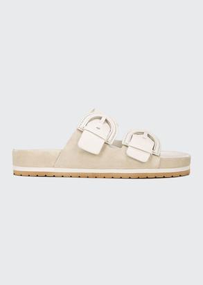Vince Glyn Dual Buckle Slide Sandals