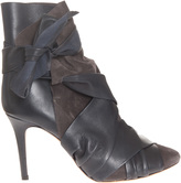 Isabel Marant Angie Leather Boot With Detail