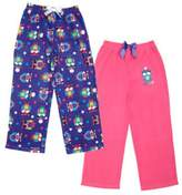 St. Eve Girls' Sleep Pant, 2-pack (Size, Owl)