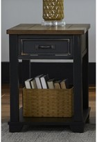Laurèl Kenneth End Table with Storage Foundry Modern Farmhouse
