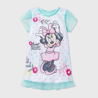 Minnie Mouse Toddler Girls' Minnie Doll & Me Dorm Nightgown -