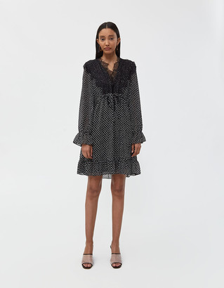 Just Female Women's Ester Mini Dress in Splash Polkadot, Size Extra Small
