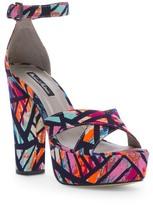 Michael Antonio Tulip Platform Crisscross Sandal
