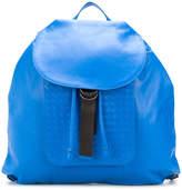 Bottega Veneta woven detail backpack