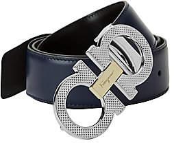 Salvatore Ferragamo Men's Logo Leather Belt
