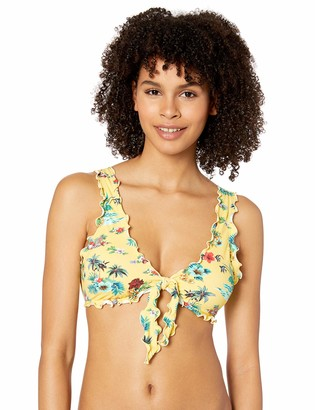 Hobie Junior's Bralette Hipster Bikini Swimsuit Top