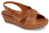 Sesto Meucci Women's Bean Slingback Wedge Sandal