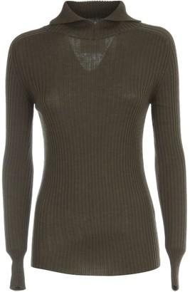 Erika Cavallini Nives High Neck Long Sweater