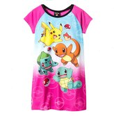 "Pokemon Little Girls' ""Everybody Run!"" Nightgown"