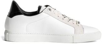 Zadig & Voltaire Logo Studded Platform Sneaker