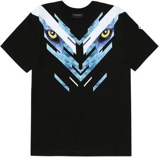 Marcelo Burlon County of Milan Kids Of Milan Eyes cotton T-shirt