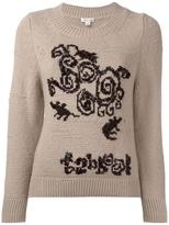 Marc Jacobs beaded detail jumper - women - Polyester/Cashmere/Wool/glass - L