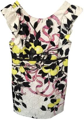 Giamba Multicolour Cotton Dress for Women