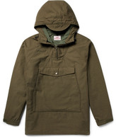 Battenwear Scout Oversized Cotton-Blend Canvas Hooded Anorak