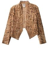 Haute Hippie Laser-cut suede jacket