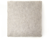 French Connection Mua Open Knit Wool Cushion