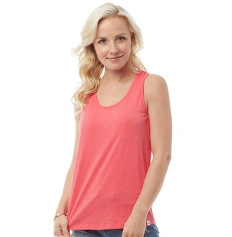Animal Womens Daily Vest Calypso Coral Red
