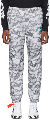 Off-White Grey All Over Arrows Lounge Pants