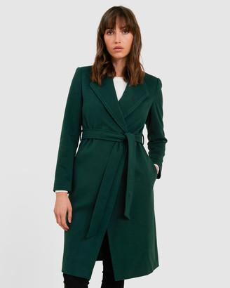 Forcast Paola Tie Waist Coat