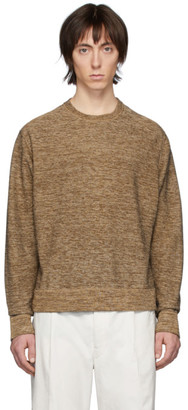 Lemaire Brown Crewneck Sweater
