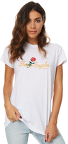 Stussy Flower Cities Ss Tee White