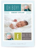 Minted Modern Album Birth Announcement Postcards