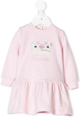 MonnaLisa Princess Embroidered Dress