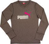 Puma Forever Faster Long-Sleeve Tee - Preschool Girls 4-6x